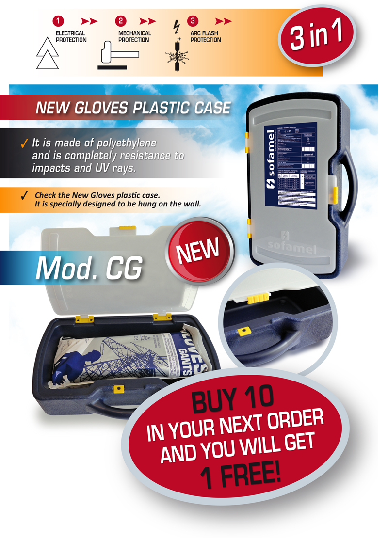 New Dielectric Gloves